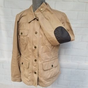 Tommy Hilfiger Tan Lightweight Utility Jacket